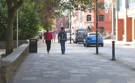 Improved footway environment
