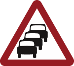 Ratrunning road sign