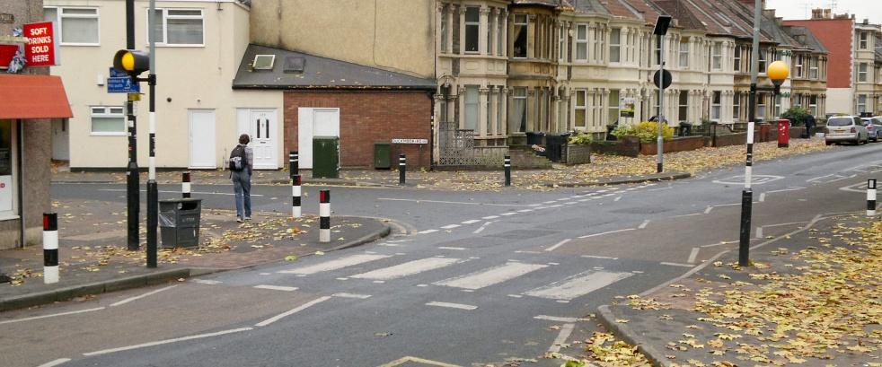 Zebra Crossings Traffic Choices Aiding Traffic Scheme Decisions